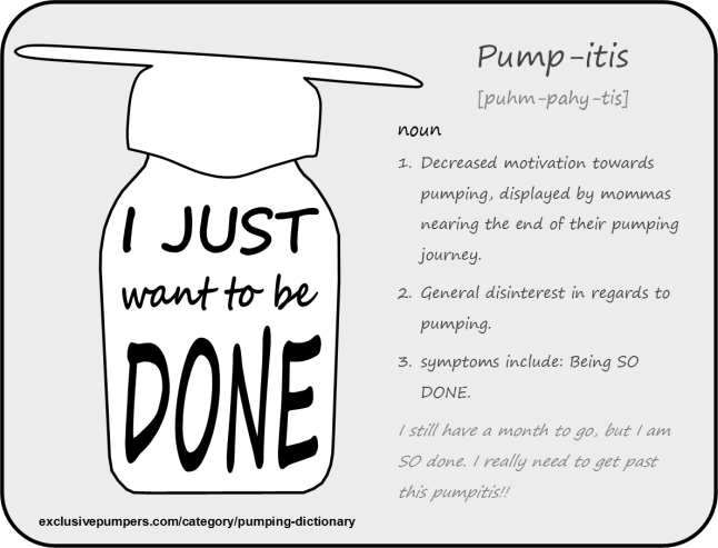 Pumping Definition: Pump-itis