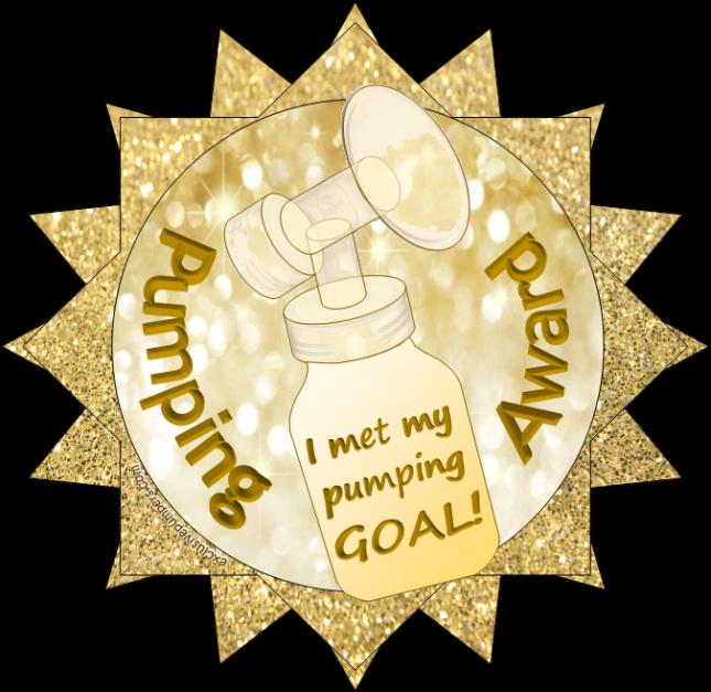 Pumping Award - I met my goal!